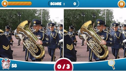 بازی تشخیص تفاوت عکس
