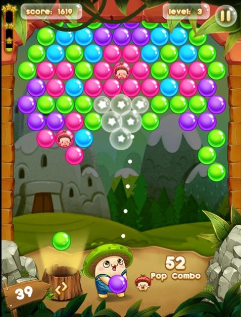 بازی پرتاب حباب (نسخه جدید)