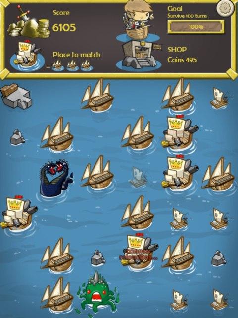 بازی کشتی و هیولا