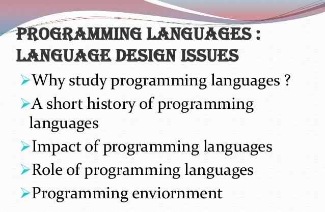 آزمون اول طراحی و پیاده سازی زبانهای برنامهسازی- اصول طراحی زبانها